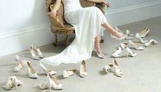 Νυφικά παπούτσια: 40 υπέροχες προτάσεις για κάθε νύφη