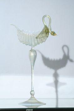 Venice Glass Salviati Swan $170.00