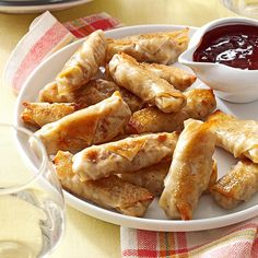 Crispy Baked Wontons Recipe -These quick, versatile wontons are great for a savory snack or paired with a bowl of soothing soup on a cold day. I usually make a large batch, freeze half on a floured baking sheet, then store in an airtight container. —Brianna Shade, Beaverton, Oregon