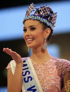 Miss Philippines Megan Young is crowned Miss World