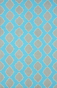 Rugs USA Homespun Trellis HK107 Grey Rug Modern, blue, home decor, interior design, style, home, house, decor, area rugs, modern, contemporary, pattern.
