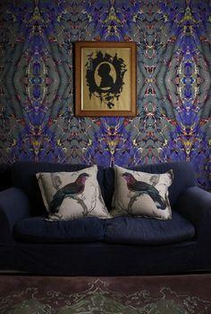 Traditional wallpaper - EX LIBRIS - Timorous Beasties
