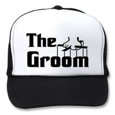 Funny hats for the groom! (For the bachelor party?)
