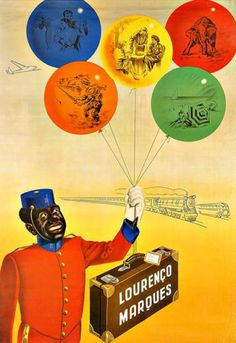 Lourenço Marques (now Maputo), Mozambique Dates, Maputo, New York, Advertising Poster, Vintage Travel Posters, Tourism, Country, World, Colonial