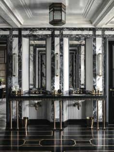 What Style Is My Home Decor art deco apartment Steven Gambrel.What Style Is My Home Decor art deco apartment Steven Gambrel Art Deco Bathroom, Bathroom Lighting, Bathroom Ideas, Bathroom Designs, Bathtub Decor, Bathroom Inspo, Bathroom Inspiration, Bathroom Interior, Deco Gamer