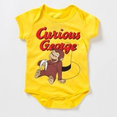 Curious George Bodysuit