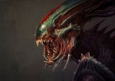 Xexy Xenomorph by GeniusFetus alien aliens monster beast creature animal | Create your own roleplaying game material w/ RPG Bard: www.rpgbard.com | Writing inspiration for Dungeons and Dragons DND D&D Pathfinder PFRPG Warhammer 40k Star Wars Shadowrun Call of Cthulhu Lord of the Rings LoTR + d20 fantasy science fiction scifi horror design | Not Trusty Sword art: click artwork for source