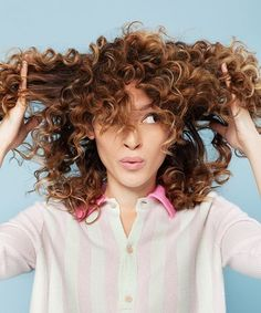 Hair Tutorials : How To Style Curly Hair | This DIY tutorial teaches you three easy beautiful ha