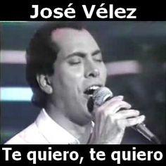 Jose Velez - Te quiero, te quiero acordes