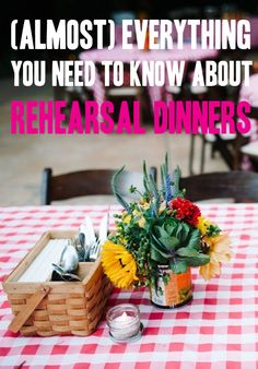 (Almost) Everything You Need To Know About Rehearsal Dinners | A Practical Wedding.They mention bowling...