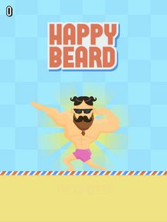 """tired of playing Flappy bird? or your late and you cannot download the addicting flappy bird on the appstore? Worry no more, try this new addicting app """"Happy Flappy Beard"""" and post your Best score.. mine is 2... beat me! :) #addicting #new #games #flappy #iphone"""