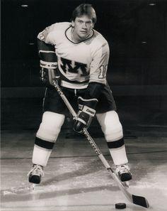 "Steve Griffith...forward, 5'9"" Hill Murray...University of Minnesota...1984 Olympics"
