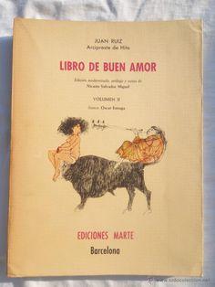 libro de buen amor arcipreste hita, ed marte il - Comprar Libros ...