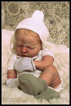 BCN ~ Baby reborn doll ~ PROTOTYPE Asher ~ Realborn Baby ~ IIORA