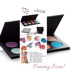 Gorgeous new shades of Pressed Shadows and new larger Palette coming soon! #younique #youniqueproducts #celticbeauty #eyeshadow #makeup #eyeshadowpalette #moodstruckpressedshadows