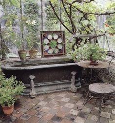 It is one of my long-held dreams to make a greenhouse bathroom in one of my houses that I might own some day.  Breathing greenhouse air is heaven for the senses, and I would make an entire greenhouse bathroom where the greywater would simply run out and water all the plants.