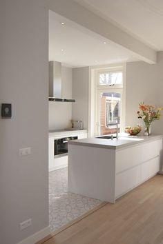 Modern Kitchen Cabinets Ideas To Get More Inspiration Dish .- Modern Kitchen Cabinets Ideas To Get More Inspiration Dish … cabinet - Modern Kitchen Cabinets, Painting Kitchen Cabinets, Kitchen Flooring, Kitchen Modern, Modern Kitchens, Kitchen Countertops, Minimal Kitchen, 1930s Kitchen, Kitchen Soffit