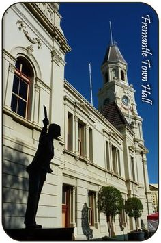 Fremantle Town Hall & Statue of John Curtain, Fremantle Town Hall, Western Australia, Perth, Notre Dame, Countryside, The Good Place, Remote, Backyard, Memories