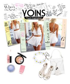 """Yoins"" by ordinary-fashion on Polyvore featuring moda, Post-It, MAC Cosmetics, Kate Spade, WallPops, Folio, Enchanté ve Nails Inc."