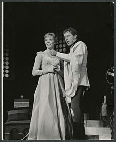 """Camelot"" ~ Julie Andrews and Richard Burton starred in  ""Camelot"" on Broadway, 1960."