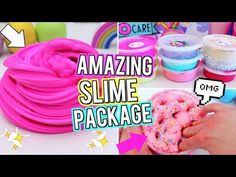Testing most popular no borax slimes recipes Borax Slime, Slime No Glue, Slime Craft, Glitter Slime, Diy Slime, Diy Fluffy Slime, Making Fluffy Slime, Listerine, Ingredients To Make Slime
