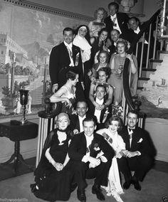 Clark Gable Carole Lombard Marion Davies and Douglas Fairbanks rare 8x10 photo