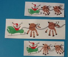 Rudolph Crafts - Regalos y golosinas - Weihnachtsdeko/Christmas/jul - Handabdruck / Fussabdruck Weihnachten, Weihnachtsmann, Rentier – ¡Artesanía navideña de huella - Kids Crafts, Baby Crafts, Preschool Crafts, Infant Crafts, Toddler Crafts, Crafts With Babies, Creative Crafts, Footprint Art, Baby Footprint Crafts