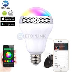 Find More Smart Illumination Information about 5W E27 Wireless Bluetooth Speaker RGB 2.0 Color Smart LED Light Bulb Lamp for iPhone 6S 6 5S For Samsung,High Quality speakers for apple products,China lamp fringe Suppliers, Cheap speaker quality from Guangzhou Etoplink Co., Ltd on Aliexpress.com