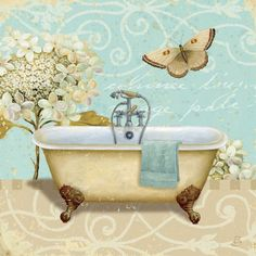 Great Big Canvas 'Light Breeze Bath I' Daphne Brissonnet Graphic Art Print Bathroom Prints, Bathroom Art, Bathrooms, Bathroom Vintage, Boho Bathroom, Abstract Canvas, Canvas Artwork, Etiquette Vintage, Lighted Canvas