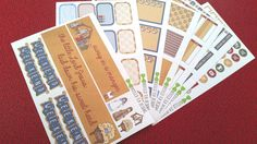 Away In A Manger Kit (Set of 7 Sheets) Can be bought as seperate sheets // Item #084