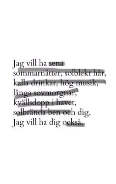 Glöm aldrig det💚 Pretty Words, Cool Words, Swedish Quotes, Complicated Love, Ig Captions, Different Quotes, Poetry Quotes, True Quotes, Quote Of The Day