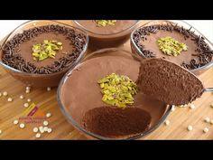 BU TATLI DONDURMAYI KISKANDIRIR😍 DİBİNE KADAR ÇİKOLATA😋 MOUSSE TARİFİ ÇİKOLATALI👌👌 - YouTube Mousse, Pudding, Chocolate, Desserts, Food, Food And Drinks, Tailgate Desserts, Deserts, Custard Pudding