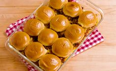 Chili Cheese Sliders  - Delish.com
