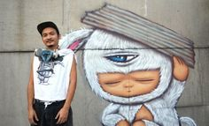 #Bangkok Street Artist Alex Face on Making Friends (and Enemies) Through #Graffiti. #bkmagazine. #alexface http://www.widewalls.ch/artist/alex-face/