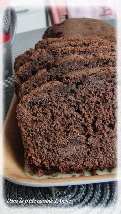 Cake au chocolat à la fleur de sel de Pierre Hermé .