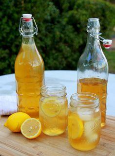 Cocktail sans alcool ice tea