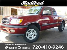2001 *Toyota*  *Tundra* *SR5* *4dr* *Access* *Cab* *V8* *2WD* *SB* $6,495 0 miles 720-410-9246 Transmission: Automatic  #Toyota #Tundra #used #cars #SindibadAutoSales #Denver #CO #tapcars