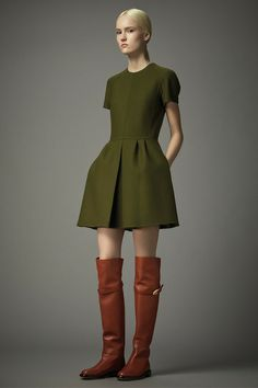 Valentino | Pre-Fall 2014 Collection | Style.com - See...another simple but perfect basic block execution!