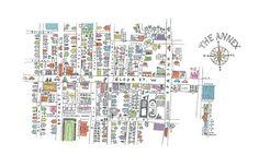 Our Neighbourhood, The Annex - illustrated by Marlena Zuber