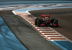 Lewis Hamilton was second fastest in second practice for the Abu Dhabi Grand Prix [Picture: Vodafone McLaren Mercedes] photo 26