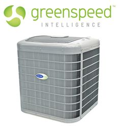 Carrier Green Speed,  inverter compressor.  HVAC of the future invented by Mitsubishi.