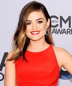 The Best Looks From the 2014 CMA Awards - Lucy Hale from #InStyle