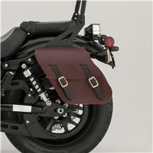 2014 YAMAHA BOLT ACCESSORIES LEATHER SADDLEBAGS from STATE 8 MOTORCYCLES