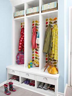 Entry closet/storage
