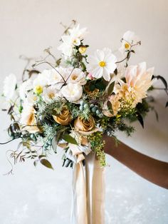 Image by Marion Heurteboust Photography - Voewood Wedding Inspiration Shoot Styled by Knot & Pop Halfpenny London Dresses Images by Marion Heurteboust Photography #weddingflowers #utahwedding #utahbride #bridalbouquet