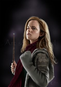 This is a painting of Hermione Granger from Harry Potter played by Emma Watson If you like it and you have time please leave a comment, fav it or add me. A Painting of Hermione Granger from Harry Potter Hermione Granger, Draco Malfoy, Hermione Fan Art, Daniel Radcliffe, Emma Watson, Harry Potter Girl, Harry Potter Characters, Logan Lerman, Voldemort