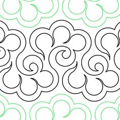 Halcyon - Digital - Quilts Complete - Continuous Line Quilting Patterns