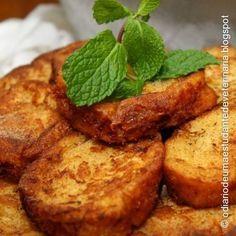 Receita de RABANADA, uma ótima maneira de aproveitar o pão em época de crise!