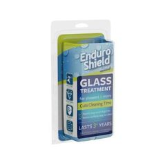 EnduroShield Glass Treatment Kit with 2 oz. Coating and 4.2 oz. Cleaner for Glass Showers-ESGL020D - The Home Depot Repels water from shower glass and tile for up to 3 years!