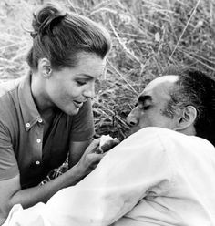 "Michel Piccoli and Romy Schneider in ""Les choses de la vie"" directed by Claude Sautet, 1970. (Contemporary of the Nouvelle Vague without being part of it)"
